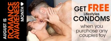 Celebrate Romance Awareness Month with couples sex toys and get free Lifestyles condoms.