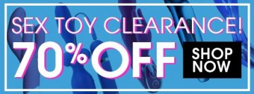 Save up to 70% with clearance sex toys.