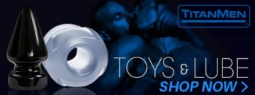 Browse sex toys and lubes from TitanMen.
