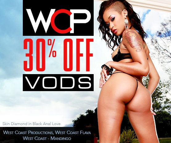 Save 30% on West Coast Productions VOD porn movies starring Skin Diamond and more.