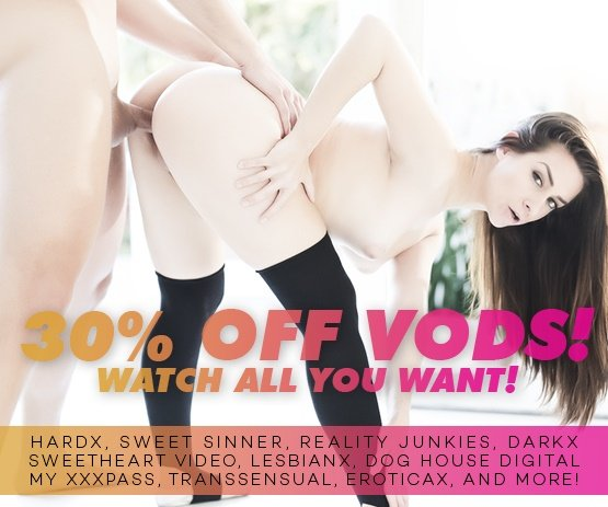 Stream our Multi VOD Sale today featuring studios HardX,Sweetheart Video and more! - Watch now