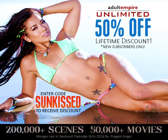 Save 50% off Adult Empire Unlimited for life with promo code SUNKISSED.