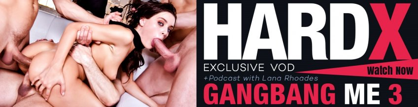 Gangbang Me 3 exclusive streaming porn video from HardX.