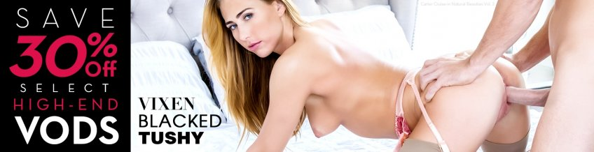Save on best selling porn VODs starring Carter Cruise and more.