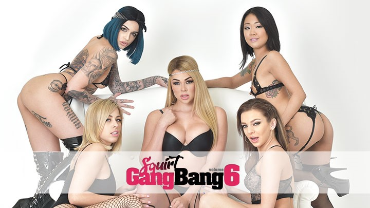 Behind the Scenes of Squirt Gangbang 6