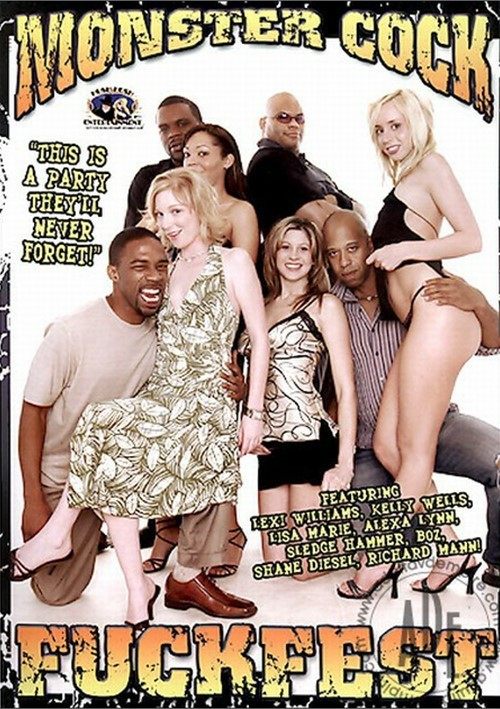 Monster cock fuck fest 4 hot white chicks 4 black cocks 4