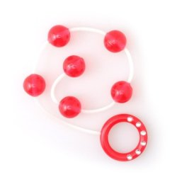 My First Anal Beads - Red Sex Toy