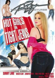 Hot Girls in Tight Jeans  porn DVD from Tom Byron Pictures.
