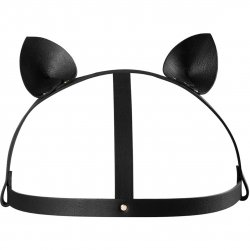 Bijoux Indiscrets: Maze Cat Ear Head Piece - Black Sex Toy