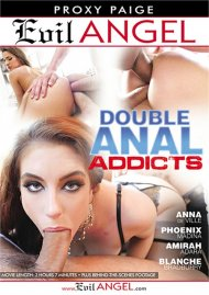 Double Anal Addicts DVD porn movie from Evil Angel.