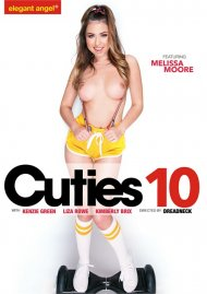 Cuties 10 porn DVD from Elegant Angel.