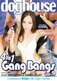 4 On 1 Gang Bangs Vol. 9 Porn Movie