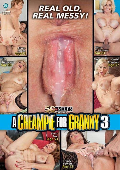 Granny cream porn