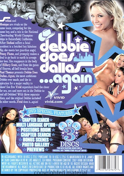 Back cover of Debbie Does Dallas...Again