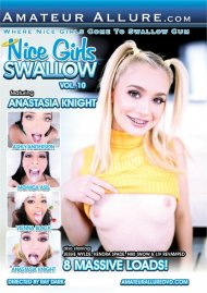 Nice Girls Swallow Vol. 10 DVD porn movie from Amateur Allure.