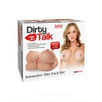 Pipedream Extreme Toyz Dirty Talk Interactive Titty Fuck-Her Sex Toy