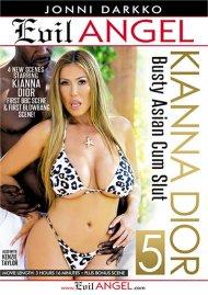 Kianna Dior: Busty Asian Cum Slut 5 porn DVD from Evil Angel.
