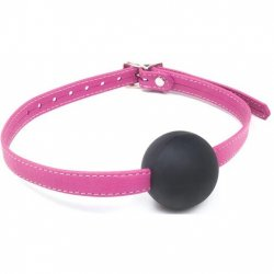 Joanna Angel Ball Gag - Pink Sex Toy
