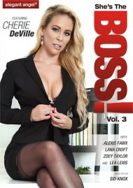 She's The Boss! 3 HD DVD porn movie from Elegant Angel.