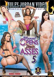 Manuel Opens Their Asses 5 HD DVD porn movie from Jules Jordan Video.