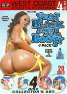 Phat Black Juicy Anal Booty 4-Pack Porn Movie