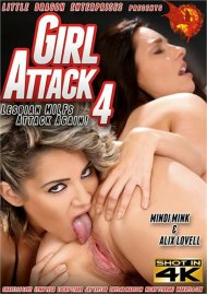 Girl Attack 4: Lesbian MILFs Attack Again! HD porn video from Little Dragon Pictures.