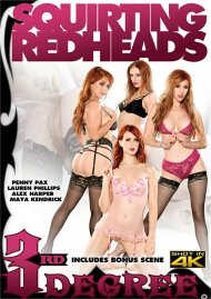 Squirting Redheads DVD porn movie from Third Degree Films.