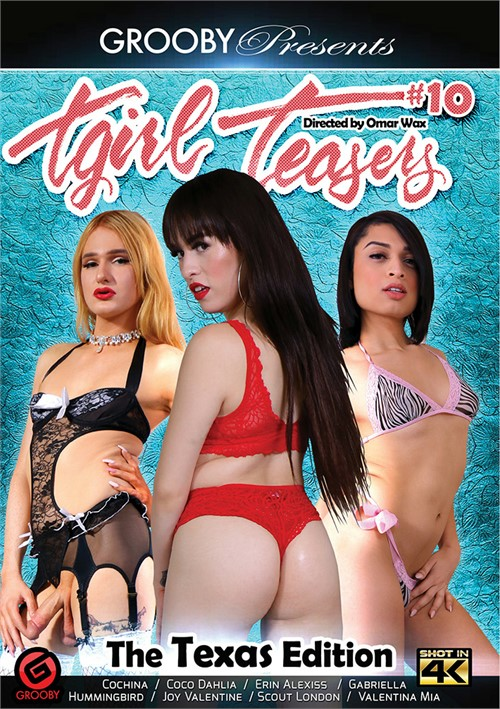 TGirl Teasers #10: The Texas Edition 2018 Cumshots Gabriella (TS)