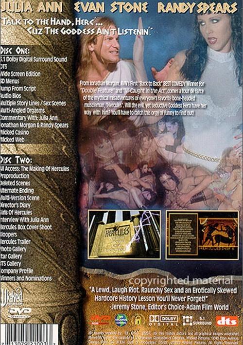 Back cover of Hercules