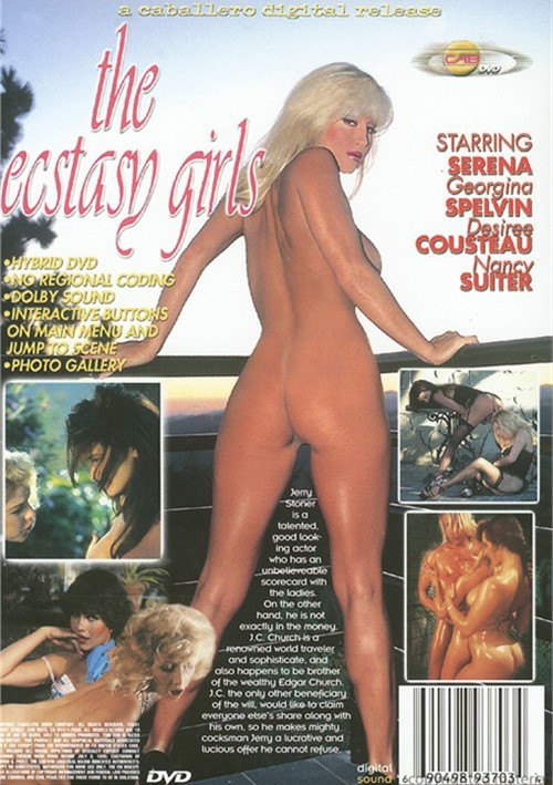 Back cover of The Ecstasy Girls