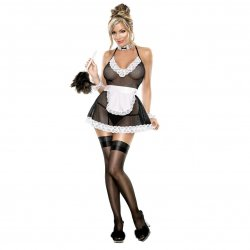 Exposed: Chamber Maid Outfit - L/XL Sex Toy