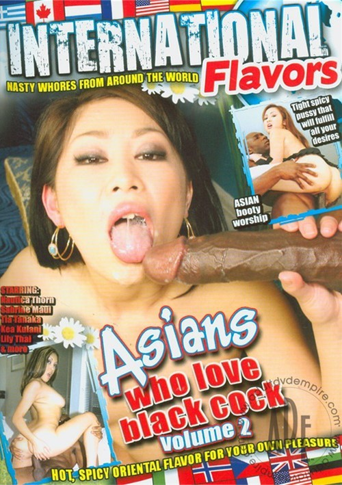 Asians love black dick