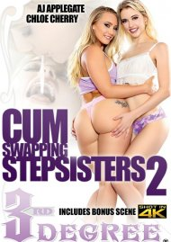 Cum Swapping Stepsisters 2 porn video from Third Degree Films.