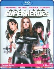 Pornstar Superheroes Blu-ray porn movie from Elegant Angel.