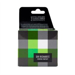 Sir Richards Condoms - Classic Ribbed - 3 pk Sex Toy