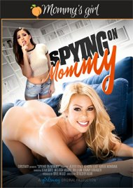 Spying on Mommy HD streaming porn video from Girlsway.