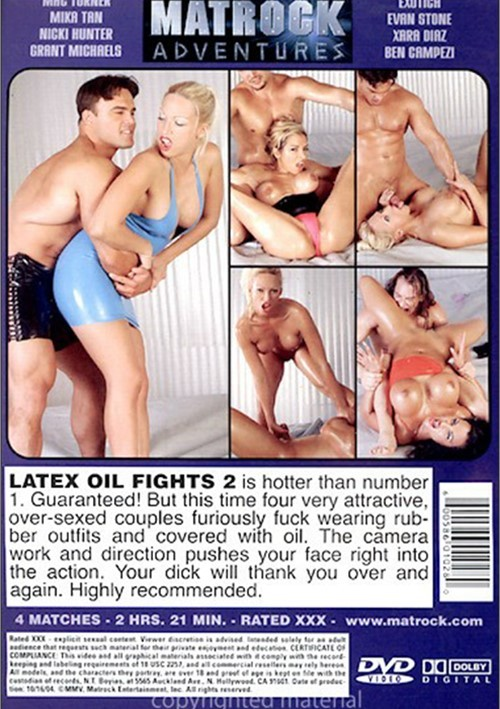 wrestling Latex oil