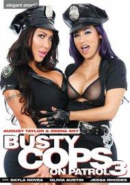 Busty Cops On Patrol 3 DVD porn movie from Elegant Angel.