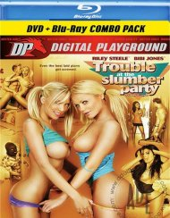 Trouble At The Slumber Party (DVD + Blu-ray Combo) Blu-ray Porn Movie