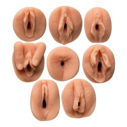 All Star Porn Stars 8 Piece Gang Bang Collector's Set sex toy from Doc Johnson.