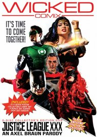 Justice League XXX: An Axel Braun Parody DVD porn movie from Wicked Pictures.