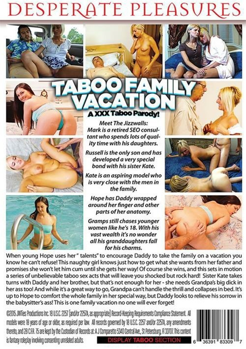 Taboo family vacation an xxx taboo parody