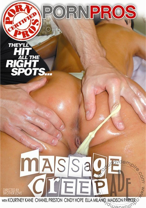 Porn pros massage creep