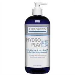 TitanMen Hydro Play - Water Based Glide - 32 fl. oz. Sex Toy