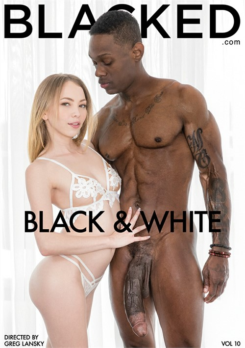 white adult and video Black