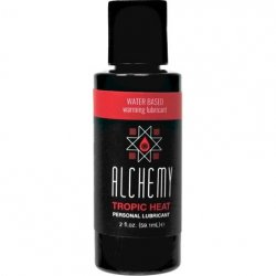 Alchemy Tropic Heat Water Based Warming Lube - 2oz. Sex Toy