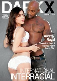 International Interracial porn DVD from DarkX.