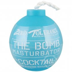 Zero Tolerance The Bomb Cocktail Masturbator - Blue Sex Toy
