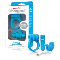 Screaming O Charged CombO Kit #1 - Blue Sex Toy