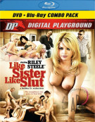 Like Sister Like Slut (DVD + Blu-ray Combo) Blu-ray